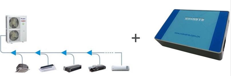 大金中央空调Modbus网关连接图