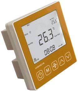 海思中央空调温控器(金色面板)