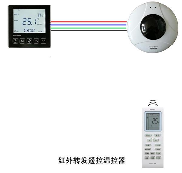 海思红外遥控温控器