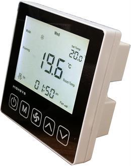 海思液晶中央空调温控器(镜面)