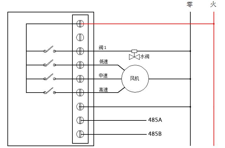 485温控器接线图